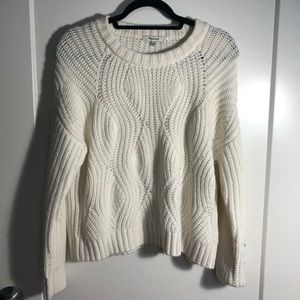 Madewell Cream Knit Pullover